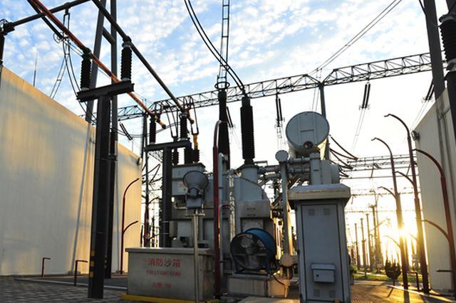 太原综改示范区再添一座110千伏变电站