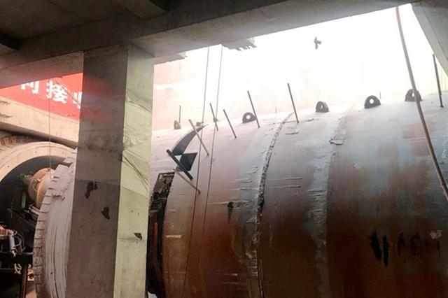 太原地铁2号线中晋区间盾构双线贯通