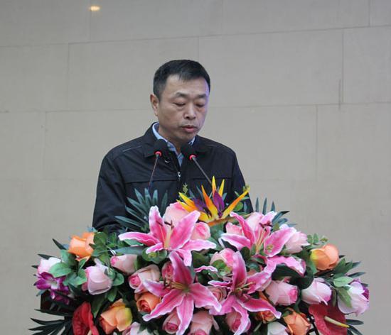 山西经济日报社副社长陈刘峰致辞