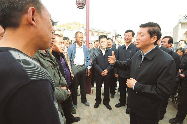 骆惠宁吕梁太原贫困县调研:抓春耕调结构发展现代农业