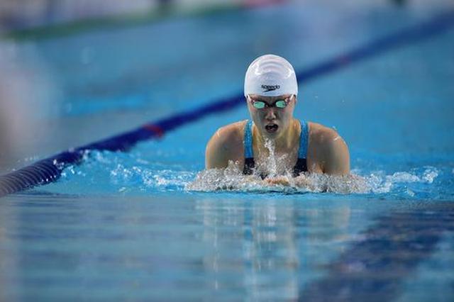 山西选手再获一银 杨畅夺得女子400米混合泳亚军