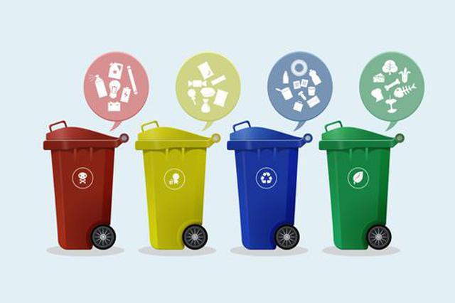 生活垃圾要分四类投放 违者或将面临最高5万元罚款