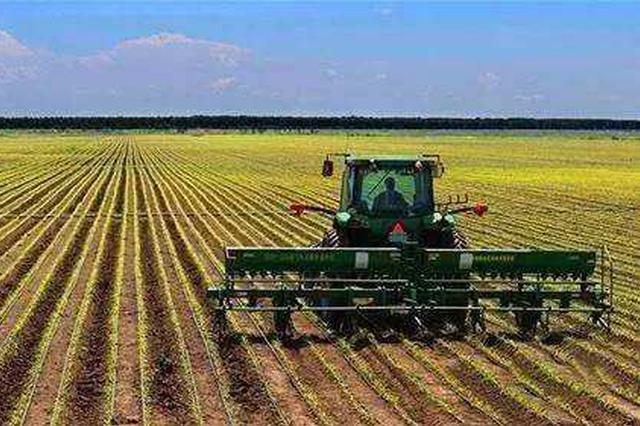 山西省分区推广有机旱作农业机械化