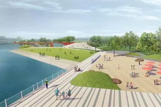 太原汾河三期景观工程有新进展 水利工程完成八成以上