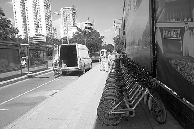 画地为锁 管得住共享单车吗?