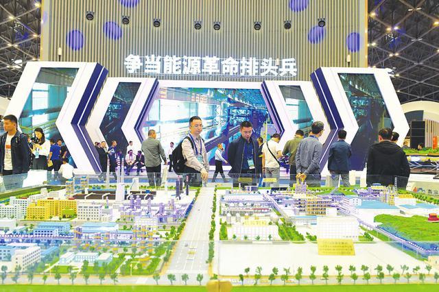 2018太原能博会42个重大项目签约成功