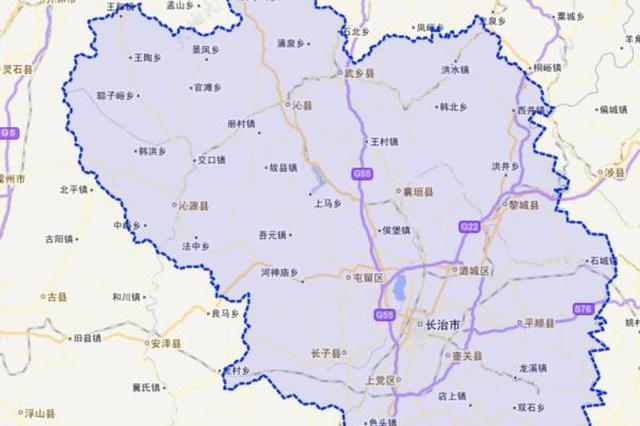 长治区划调整信息公布 潞州潞城上党屯留四新区亮相