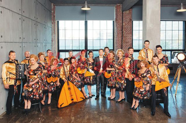 俄罗斯民族乐团首来太原 上演民族也摇滚的音乐会