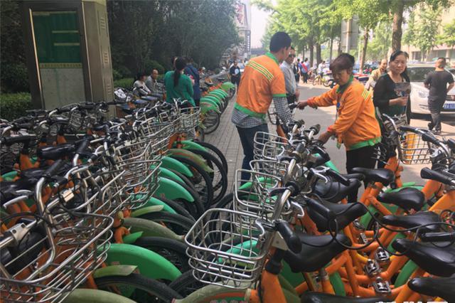 太原复建40个公共自行车服务点 已陆续投用