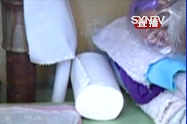 """视频丨太原市民家中卫生纸竟顺着管道向上""""爬"""""""