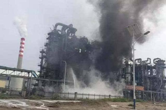 山西交口一化工厂失火引发化学反应釜炸裂 多部门救援