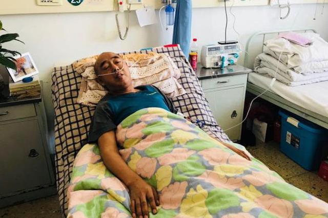 山西援疆民警王永茂:患肺癌仍坚持工作 警服挂病房