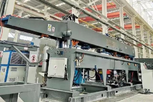 山西建筑产业现代化园区首条生产线在晋中投产