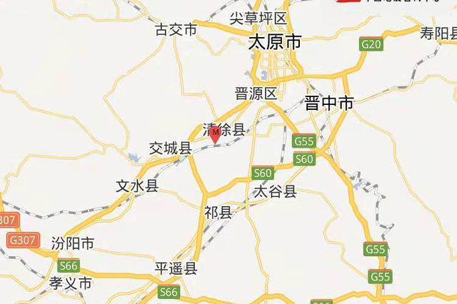 15日12时1分太原市清徐县发生3.1级地震