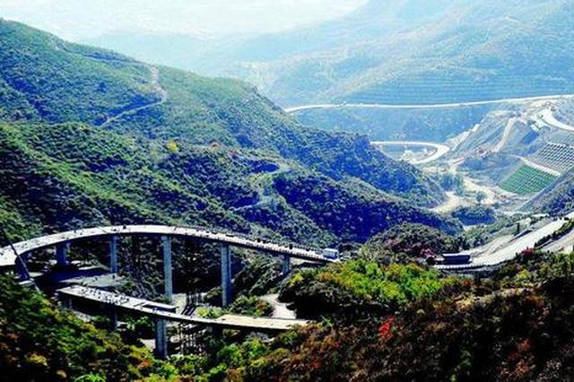 太原天龍山旅游快速路預計年內正式通車