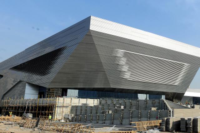 太原滨河体育中心熠熠生辉
