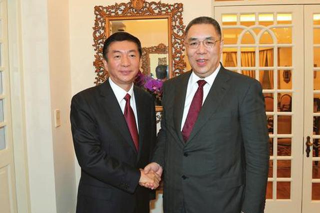 骆惠宁率山西代表团访问澳门 深化晋澳务实合作