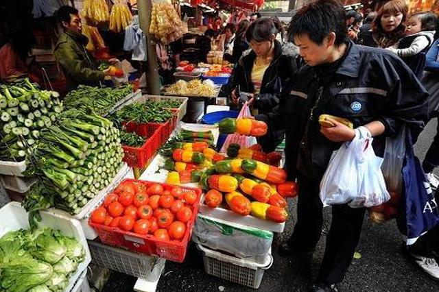 山西12月各类主要生活必需品价格涨跌互现