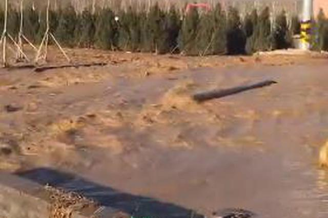 太原呼延村一蓄水池漏水 官方:险情已解除无人伤亡