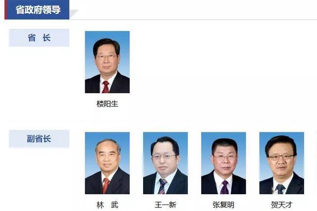 山西公布省长、副省长、秘书长最新分工