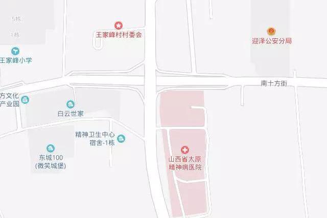太原东中环南十方路口22日晚临时施工 车辆注意绕行