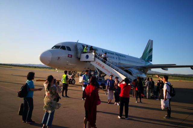 山西大同開通直飛柬埔寨旅游包機