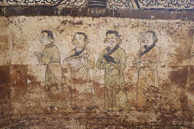 朔州發現元代壁畫墓 仕女侍奉圖揭示元人祭獻與生活