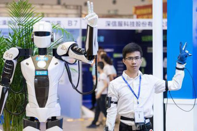 山西首次舉辦5G嘉年華 智能穿戴設備引民眾圍觀