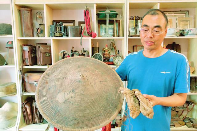 运城男子收藏1100余件(套)抗战遗物只为铭记历史