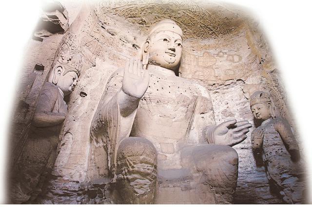 云冈石窟新发现多处铭文 益于研究石窟开凿和历史活动