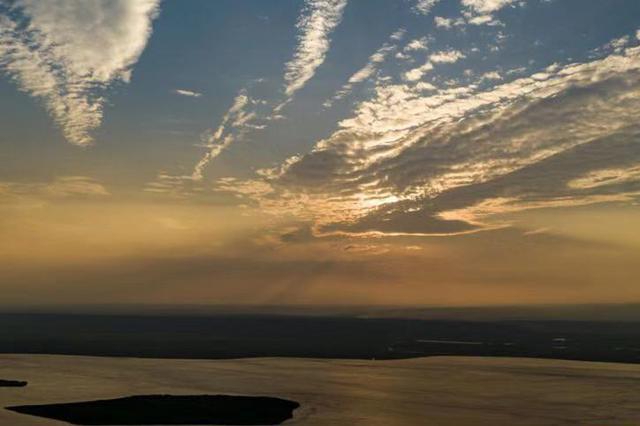 """山西:""""两山七河""""生态修复见成效 汾河入黄断面水质退出劣Ⅴ"""