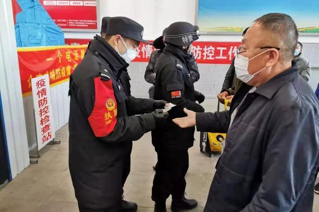 太原铁路公安局:疫情当前,警察不退
