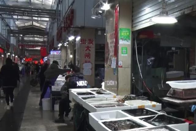 探访山西最大海鲜市场:复工与防疫同步