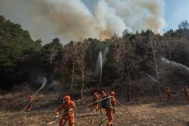 山西榆社明火全部扑灭 灾后调查评估工作组成立