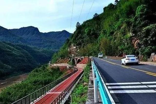 太原东西山旅游公路施工进度总体已完成七成