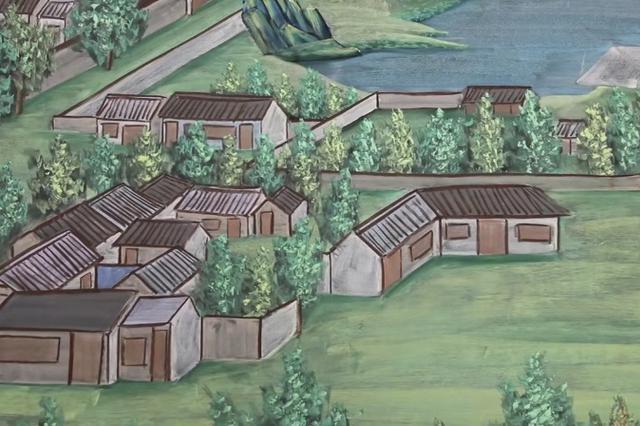 山西繁峙:小学教师粉笔手绘清明上河图