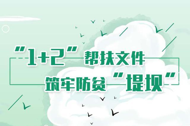 """图解丨山西""""1+2""""帮扶文件 筑牢防贫""""堤坝"""""""