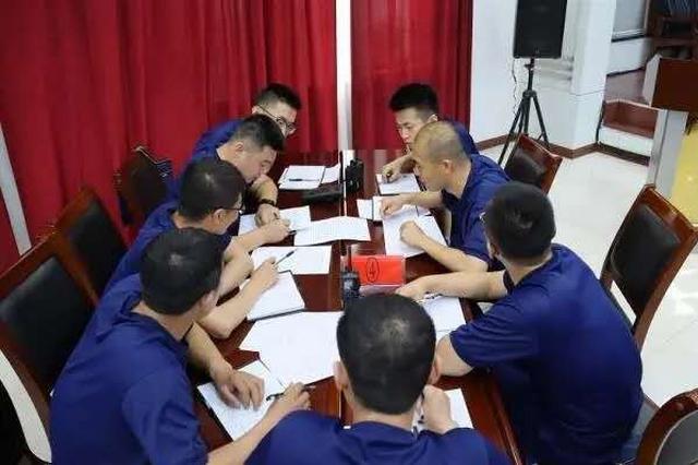 吕梁消防开展基层指挥员灾情信息上报专题培训