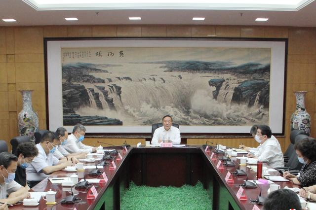 山西省委向党外人士传达省委十一届十次全会精神