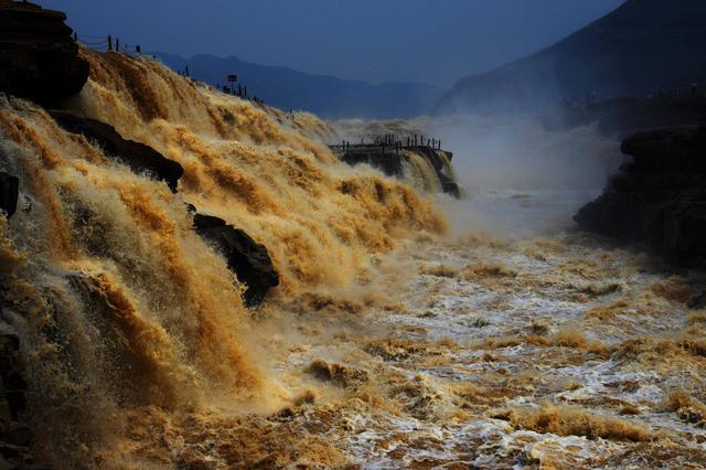 山西黄河壶口瀑布景区恢复开放