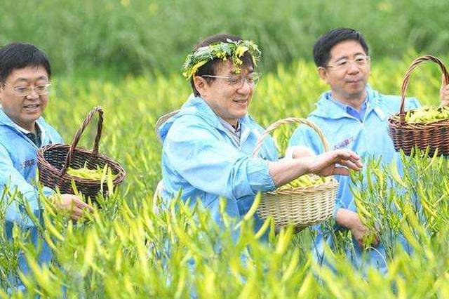 大同开展食品安全快速检测 保障黄花产品流通安全