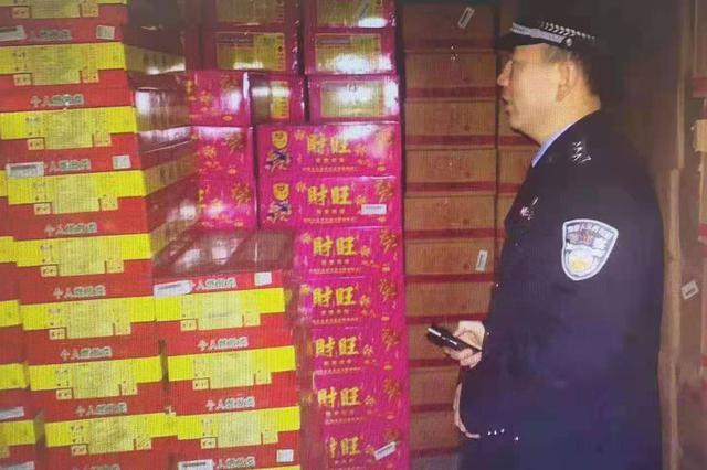 """太原警方开展烟花爆竹""""五禁""""专项排查整治行动"""