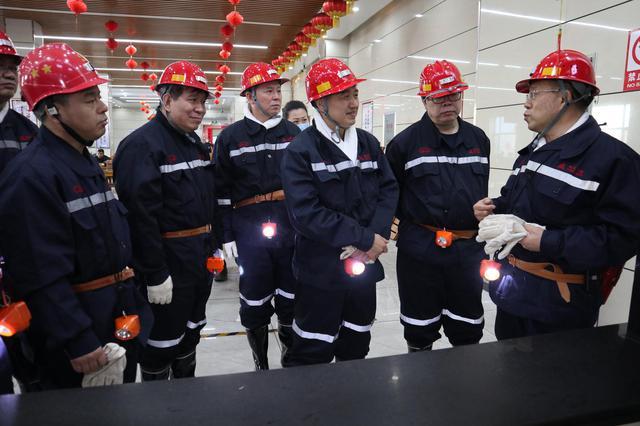 胡海軍深入長治高河煤礦調研檢查安保、防控工作