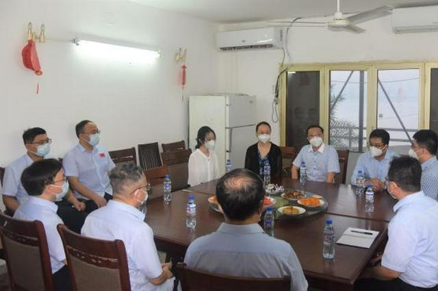 山西援非医疗队的别样中秋:邀当地人体验中国文化
