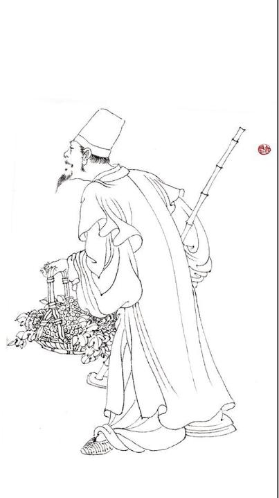 古代晋人书画大家之米友仁与《五洲烟雨图卷》