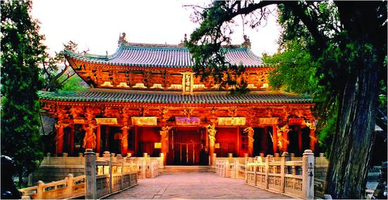 太原晉祠博物館。圖源:太原市文化和旅游局