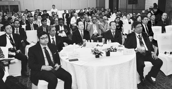 山西推介交流会引来印度嘉宾极大兴趣。记者刘通摄