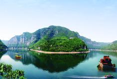 山西藏了个小桂林 风景美如画