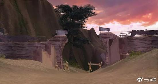 《剑网3》游戏中的石岭关