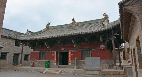 崇明寺修缮完工——中佛殿